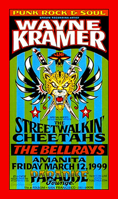 Alan Forbes Wayne Kramer Poster Poster