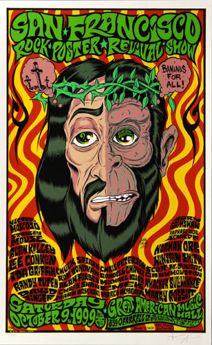 Alan Forbes San Francisco Rock Poster Revival Poster
