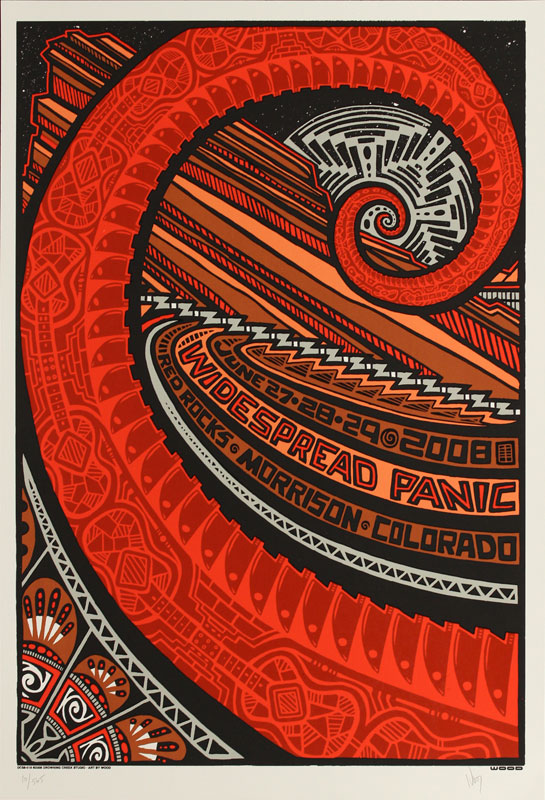 Jeff Wood Widespread Panic Poster