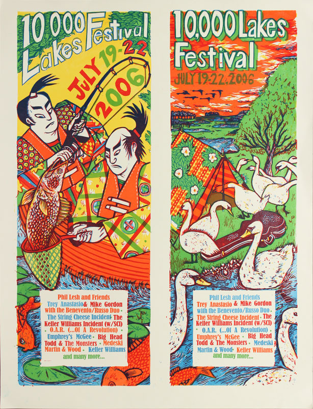 Jim Pollock 10000 Lakes Festival Days 3 and 4 Poster