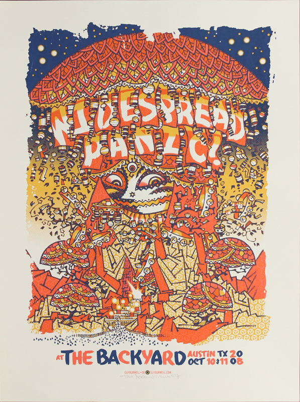 Guy Burwell Widespread Panic Poster