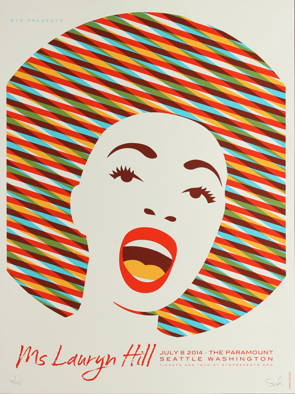 Dan Stiles Ms Lauryn Hill Poster