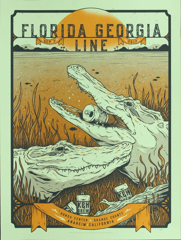 Half Hazard Press with Logan Schmitt Florida Georgia Line Poster