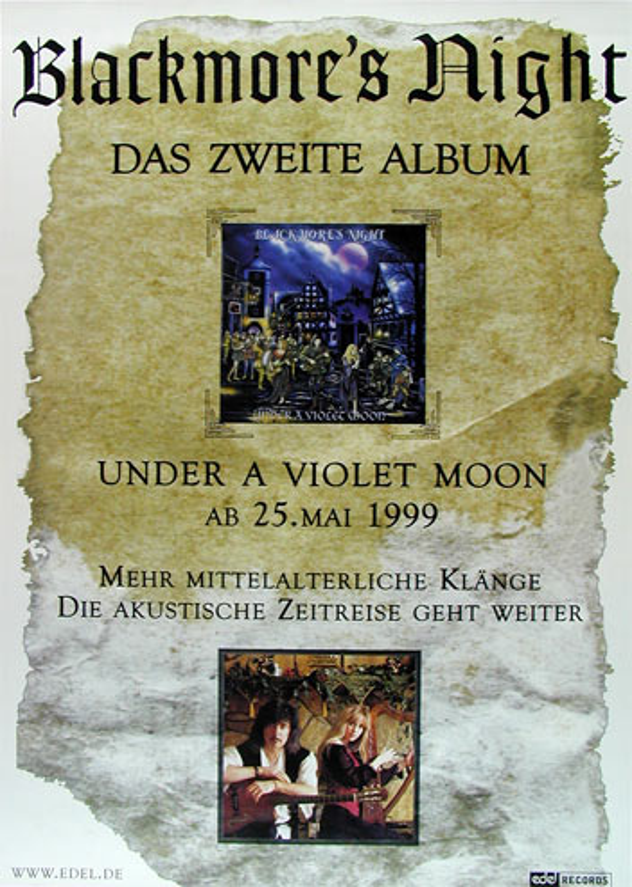 Blackmore's Night German Concert Poster