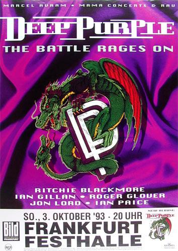 Deep Purple The Battle Rages On Album Release German
