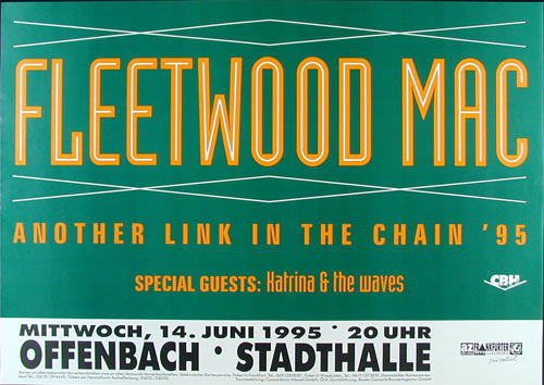 Fleetwood Mac German Concert Poster