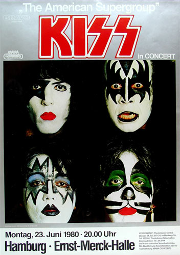 Banned Kiss German Concert Poster