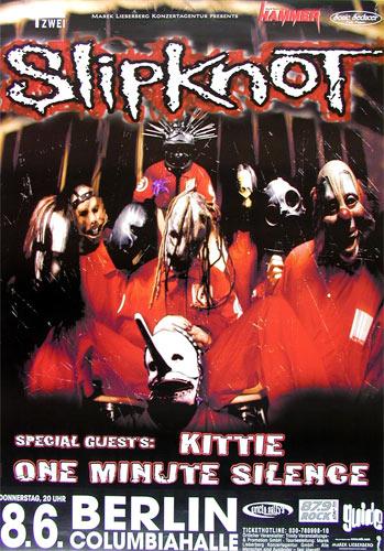 Slipknot German Concert Poster