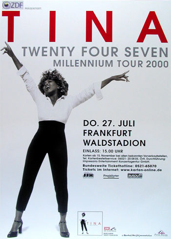 Tina Turner Twenty Four Seven Album Release German Concert ...