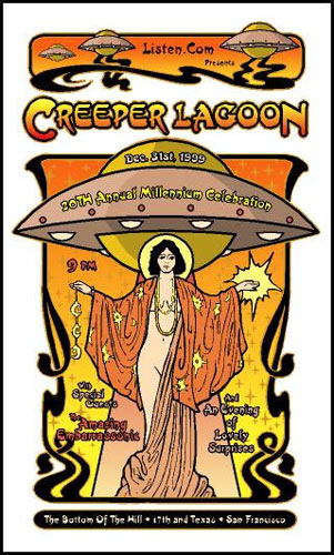 Gregg Gordon Creeper Lagoon Poster