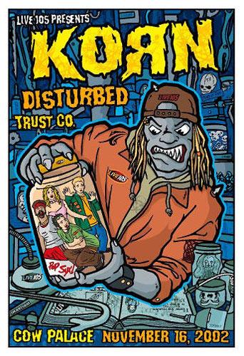 Gregg Gordon Korn Poster