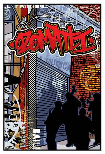 Gregg Gordon Ozomatli Poster