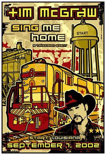 Gregg Gordon Tim McGraw Poster