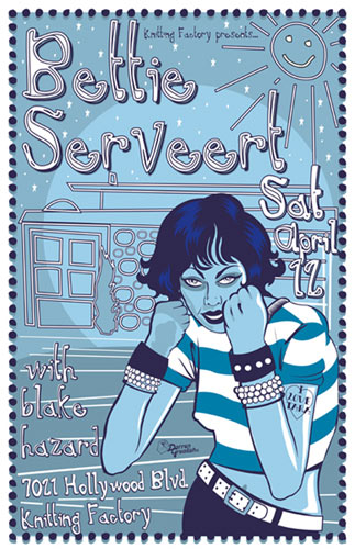 Darren Grealish Bettie Serveert Poster