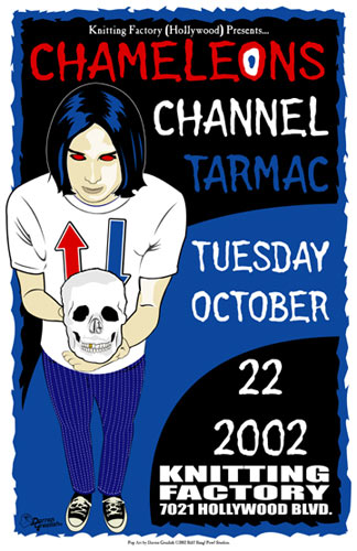Darren Grealish Chameleons Poster