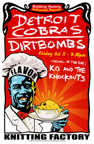 Darren Grealish Detroit Cobras Poster