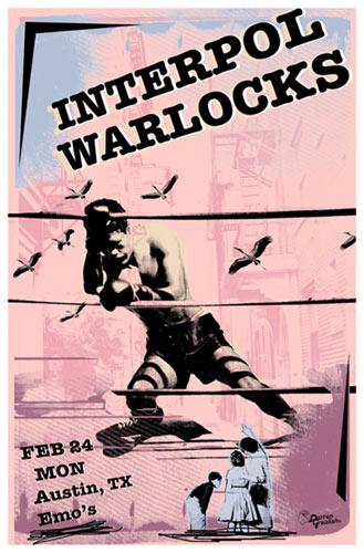 Darren Grealish Interpol Poster