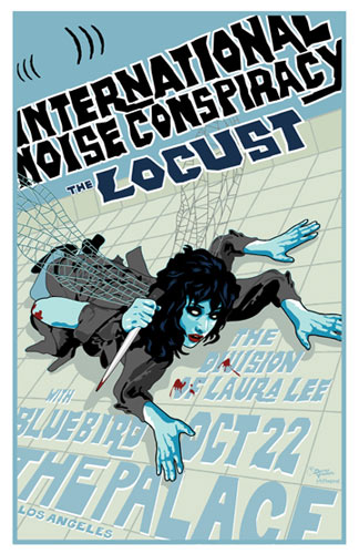 Darren Grealish International Noise Conspiracy Poster