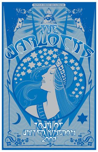 Darren Grealish Warlocks Poster