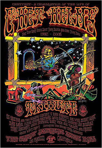 Rick Griffin Chet Helms Tribute Poster