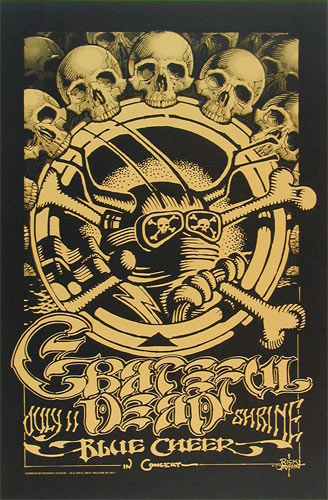 Rick Griffin Grateful Dead Shrine Poster