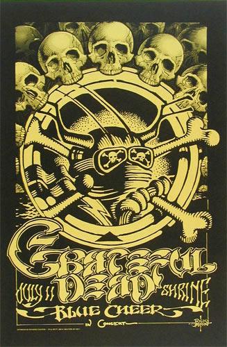 Rick Griffin Grateful Dead Shrine Poster