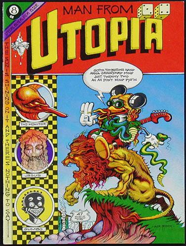Rick Griffin Man From Utopia Underground Comic