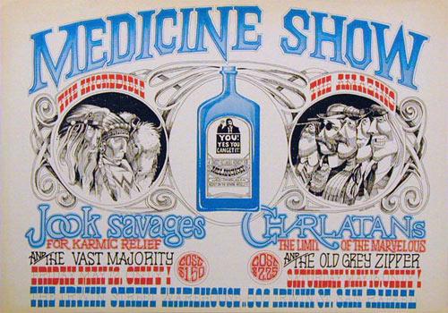 Rick Griffin Medicine Show Poster