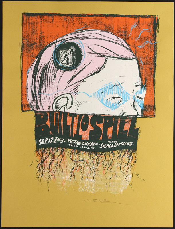 Dan Grzeca Built To Spill Poster