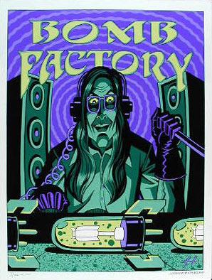 Justin Hampton Bomb Factory Promo Poster Poster