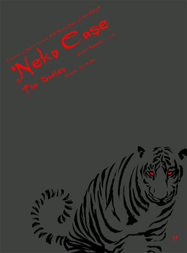Justin Hampton Neko Case Poster