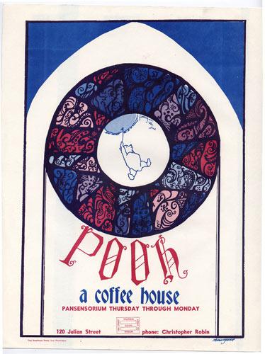 Pooh Coffee House Handbill