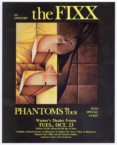 The Fixx Handbill