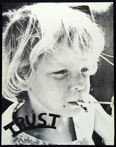 Trust  - Kid Smoking Joint Poster