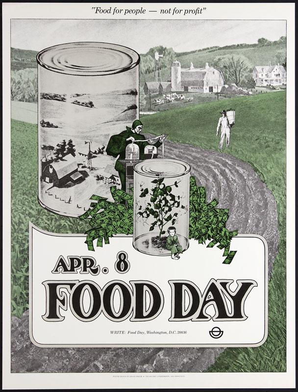 David Singer Food Day - Tea Lautrec Poster