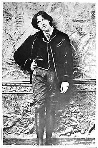 Berkeley Bonaparte Oscar Wilde Poster