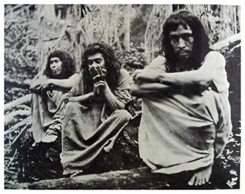 Classic 60's Berkeley Bonaparte - Smokin In The Amazon - Peyote Indians Poster