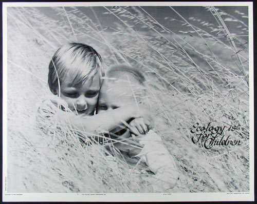 Ecology Is For Children Poster