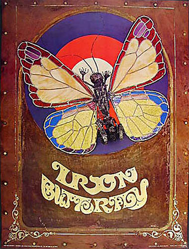 Rare Classic Iron Butterfly Poster