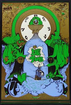 Musik Life Times Scarce 1967 Silkscreen Poster