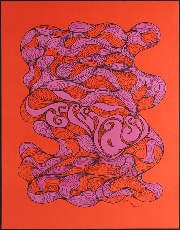Ecstasy - Rare Psychedelic Headshop Poster