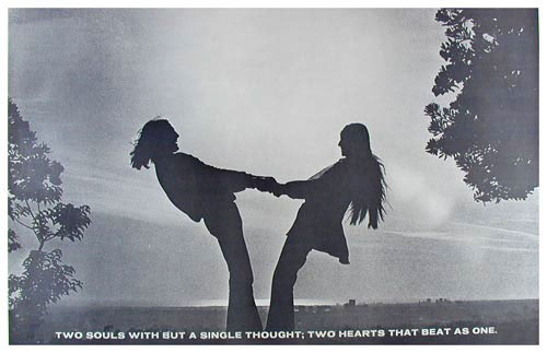 Two Souls With But A Single Thought Poster