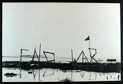 End War - Rare Historic Emeryville Mud Flats Poster