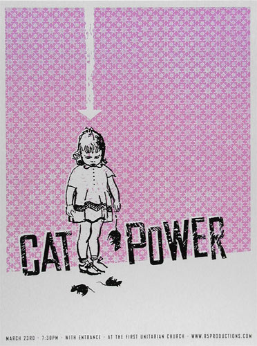 Heads of State Cat Power Poster