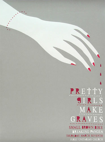 Heads of State Pretty Girls Make Graves Poster