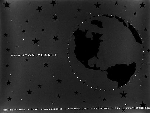 Heads of State Phantom Planet Poster