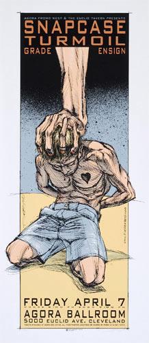 Derek Hess Snapcase Poster