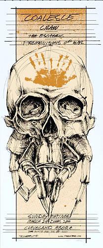 Derek Hess Coalesce Poster
