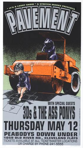 Derek Hess Pavement Poster