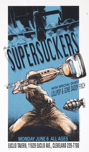 Derek Hess Supersuckers Poster